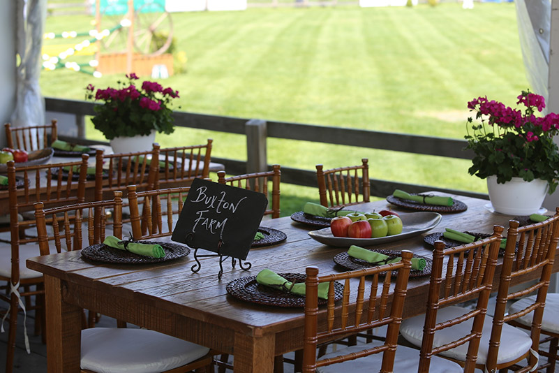 The Old Salem Farm VIP tent offers elegant seating and an unmatched view of the Grand Prix Field; photo © Jump Media