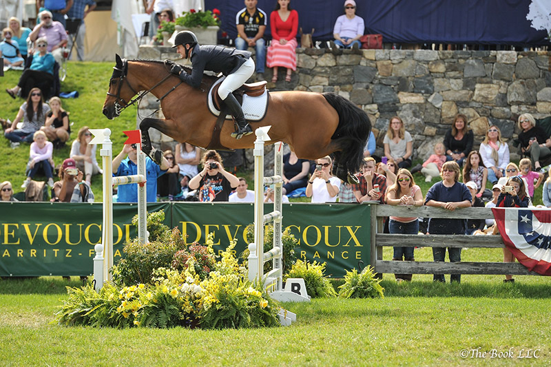 McLain Ward and Tina la Boheme; photo © The Book LLC