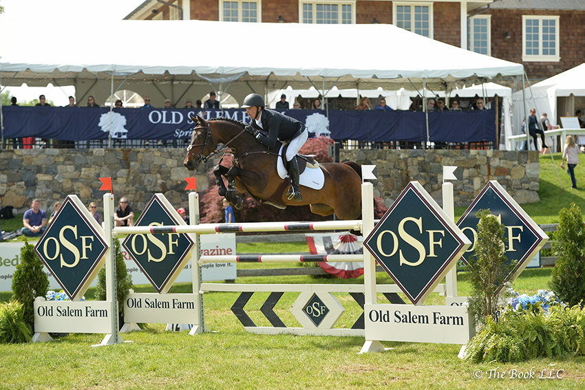 Andrew Ramsay and Stranger 30 won the $35,000 Old Salem Farm Jumper Classic CSI3*, presented by Wells Fargo, The Private Bank, on Saturday, May 20, during the 2017 Old Salem Farm Spring Horse Shows at Old Salem Farm in North Salem, NY. Photo by The Book