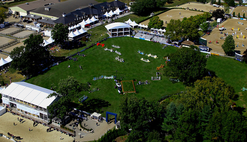 Old Salem Farm, located in North Salem, NY, will host the 2018 Dressage Adequan® FEI North American Junior and Young Rider and Jumping Adequan® FEI North American Junior Children and Young Rider Championships, both presented by Gotham North, on August 1 through 5. Photo by Stephen Roe