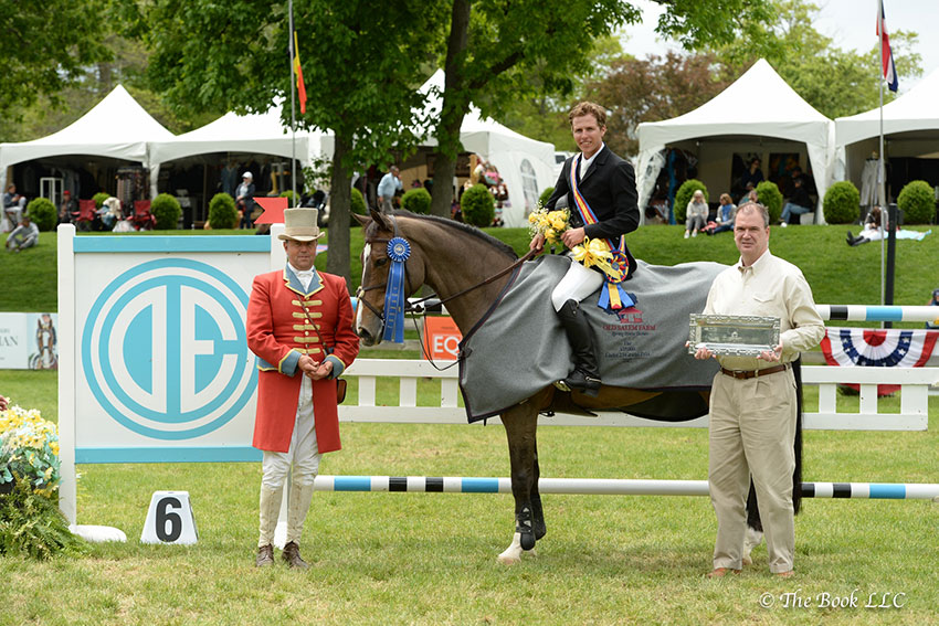 Douglas Elliman Real Estate is the presenting sponsor of the $35,000 New York Welcome Stake on Friday, May 11, and the $35,000 Welcome Stake of North Salem on Thursday, May 17, at the Old Salem Farm Spring Horse Shows. Photo by The Book