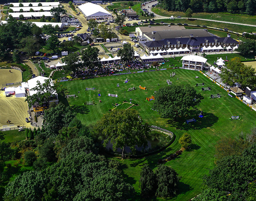 Old Salem Farm, located in North Salem, NY, will host the 2018 Adequan®/FEI North American Youth Championships, presented by Gotham North, on August 1 through 5. Photo by Stephen Roe