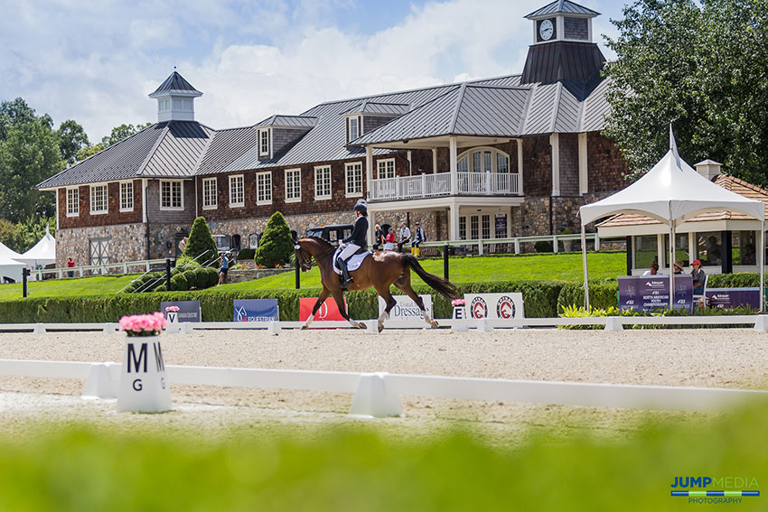 The 2018 Adequan®/FEI North American Youth Championships, presented by Gotham North, featured five days of dressage and show jumping competition hosted at Old Salem Farm in North Salem, NY. Photo by Jump Media