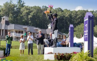 Old Salem Farm, located in North Salem, NY, hosted the 2018 Adequan®/FEI North American Youth Championships, presented by Gotham North, from August 1-5. Photo by Jump Media
