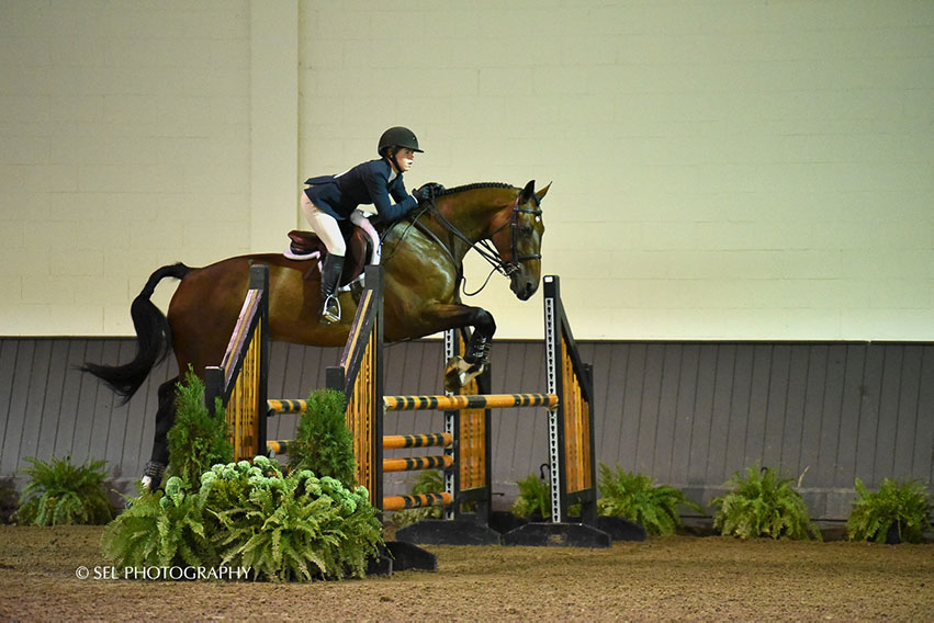 Taylor Griffiths topped the Region 2 ASPCA/NHSAA Maclay Championships riding Mac One III on Saturday, September 22, at Old Salem Farm. Photo by SEL Photography