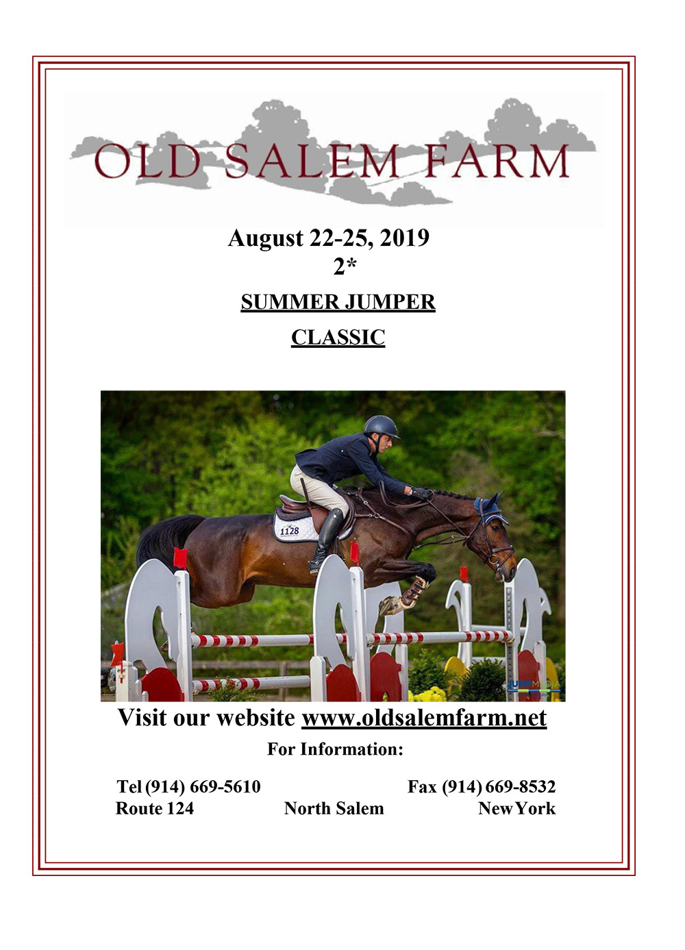 View the Summer Jumper Classic Prize List