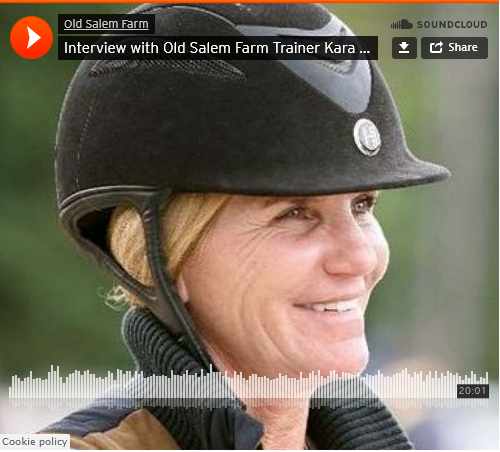 Interview with Old Salam Farm Trainer Kara Raposa